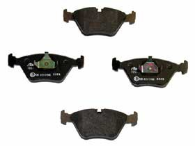 34 11 1 162 535 - Ate - Ate Stock Replacement Brake Pad FMSI: D394 - [Front] - BMW E36 M3, E46 M3, E46 330, M-Coupe, MZ3